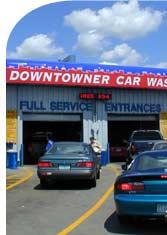 Full Service Car Wash Entrance