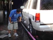Vehicle Car Wash Prepping
