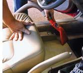 Vacuuming A Customers Vehicle